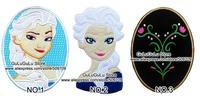 "7"" Big Size Cartoon Girl Princess Iron On Patch Sticker, Girlish Fabric Jacket Patch, Kids Cloth DIY Accosseries"