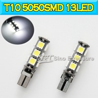 Best Quality T10 W5W Error Free LED  5050SMD 13LED Led Lights 5050SMD 13LED 168 194 501
