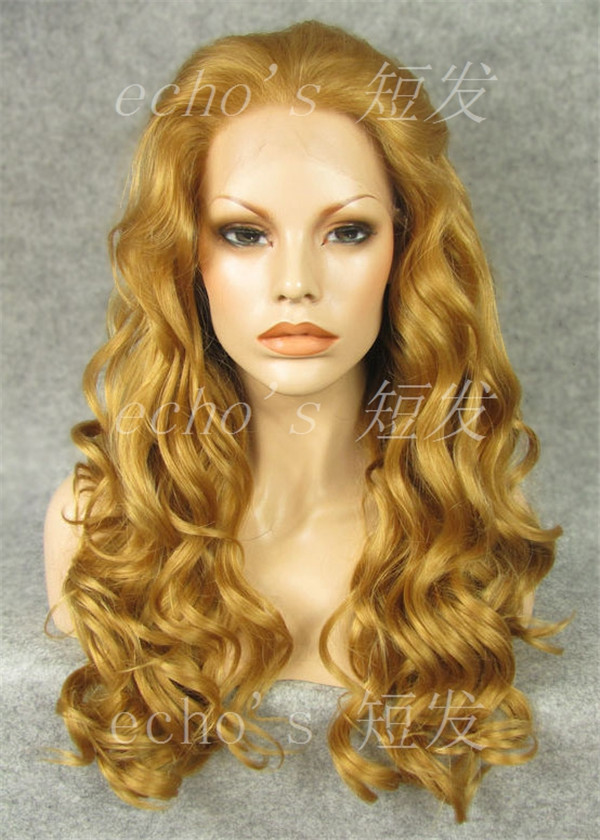 Long Golden Blonde Wig 24'inches/long Golden Blonde