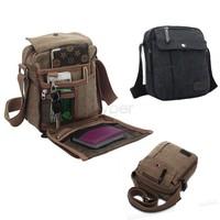 Hot!!!New 2014 Men High Quality Multifunction Casual Crossbody Canvas Bags Men's Shoulder Bags Men Messenger Bags #7 SV005826