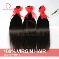 Unprocessed 6A Brazilian Virgin Hair Straight Landot Hair Products 3/4pcs Lot Wholesale Hair Weaves Cheap Human Hair Extension