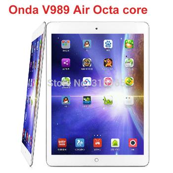 "Новый Onda V989 воздуха Allwinner A83T Octa ядро планшет пк 9.7 "" 2048 * 1536 IPS экран 2 ГБ / 32 ГБ андроид 4.4"