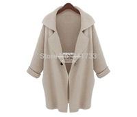 cappotto woman knit wool coats european one button oversize coat,poncho capas mujer 2014 desigual coats,manteau hiver femme