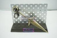 Naruto Kunai LONG well made weapon Naruto Yondaime Namikaze Minato Kunai fashion key chain accessory NA03