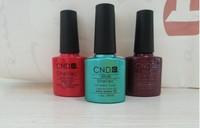 73 Summer Colors Available 6Pcs/lot Hot Sale CND Shellac Soak Off UV LED Nail Gel Polish The Best Gel Polish