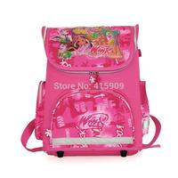 hot selling new model 01 Winx Bag  EVA  Schoolbag Children folded School Bags for Girls