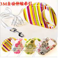 New! Pet Product Pet Retractable Dog Leash,Dog Lead, Pet  Cat Leash 3 Meter Length, Wholesales