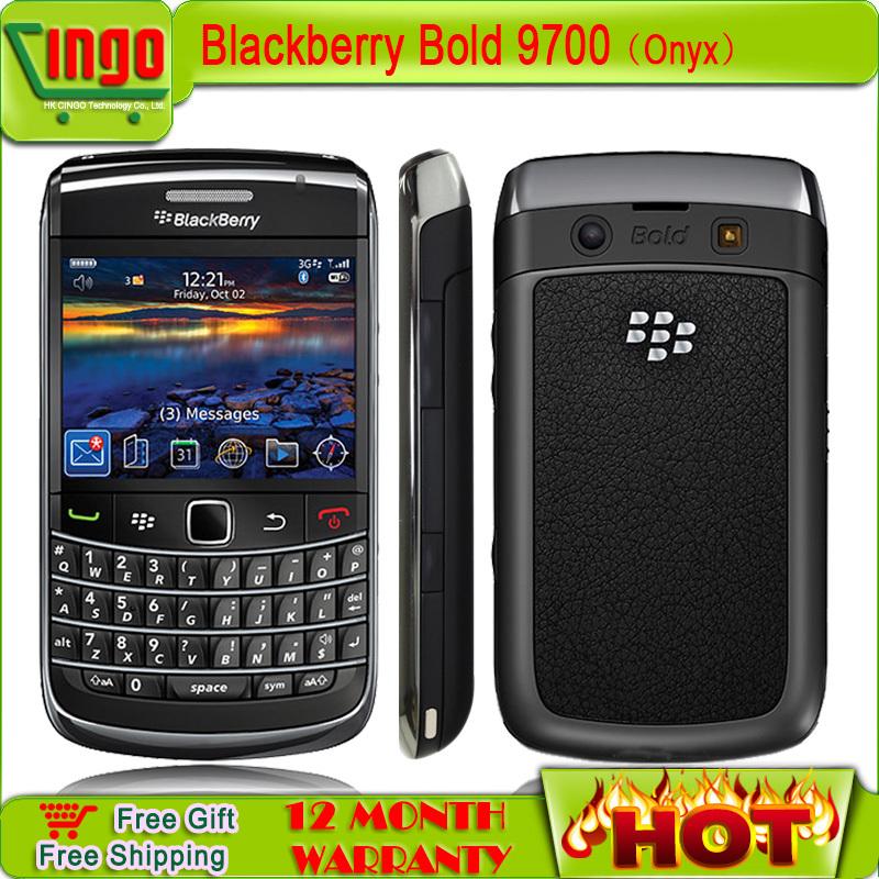 Unlocked Original Blackberry 9700 Bold GPS wifi 3.15MP camera QWERTY Arabic Russian keypad Mobile Phone in Stock Free Shipping(China (Mainland))