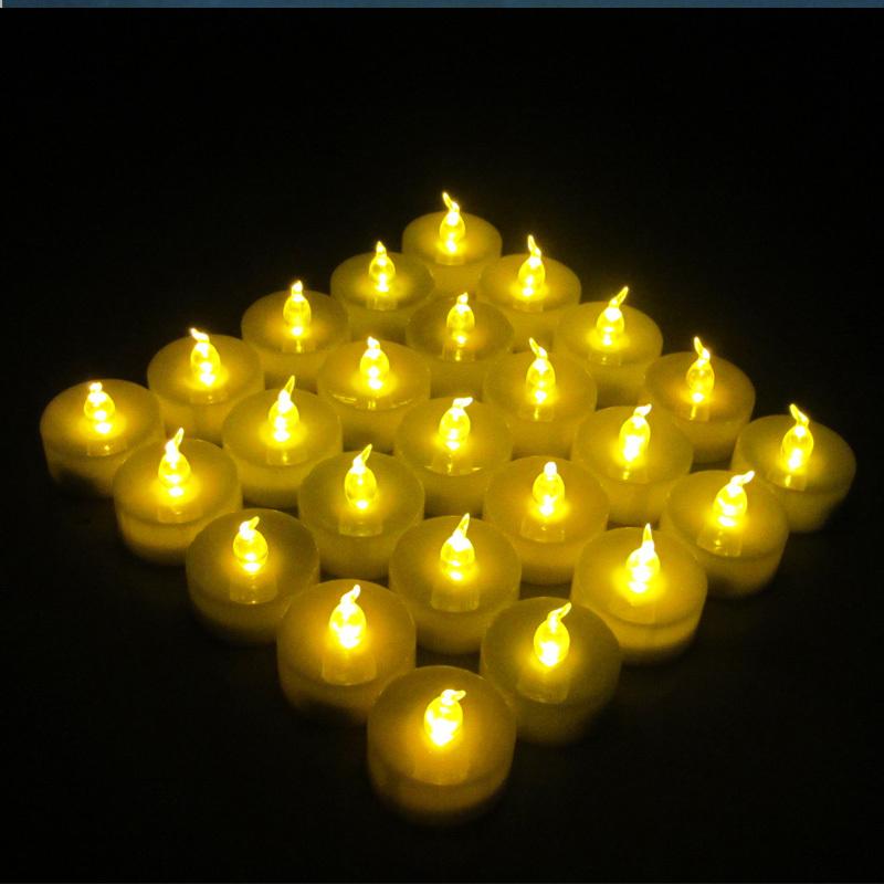 DHL Free shipping, 180pcs Battery Flameless valas LED Tea Light, Tea Candles Light Wedding Birthday Party Christmas Home Decor(China (Mainland))