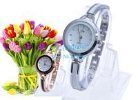 2014 Women Dress Lady Popular Fashion Luxury Round Dial Casual Bracelet Watch Time Quartz Nice Reloj Clock Female B11 SV005896