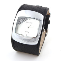 New Arrrive Fashion Women Rhinestone Watches PU Leather Quartz Watch Casual Wristwatches Hot Sale