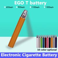 Electronic cigarette battery ego ce4 e cigarette ego t battery 650/900/1100/1300mah e cig battery 10 Colors High Quality