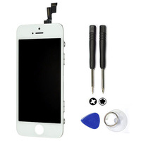100% Test New LCD For iphone 5S Touch Screen Digitizer Assembly with frame For Iphone 5S lcd +free shipping+tools