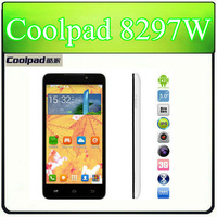 "Original 5"" Coolpad F1 8297w Android 4.2 3G MTK6592 Octa Core 1.7GHz 2G Ram 13MP GPS WCDMA 900 2100MHz"