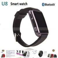 New fashion Latest U8 Bluetooth SmartWatch for Android Phone men Wearable ElectronicSport Smart watch Android for iPhone Samsung