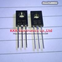 BD139 BD140  ( BD140 25PCS + BD139 25PCS ) TO126 POWER TRANSISTORS 100% New