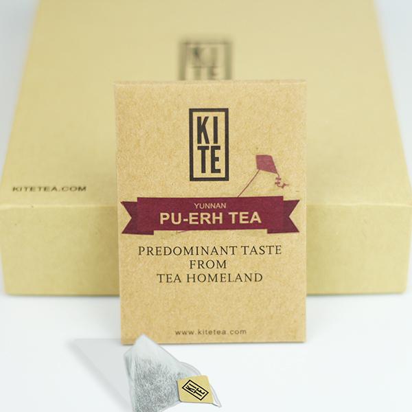 Royal Pu-Erh-Tee Probepackung, ganzen Blättern puer tee in Teebeuteln, 2 stück, von drachen