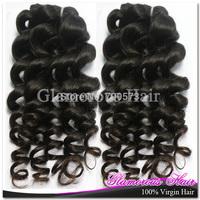 3pcs/lot  Glamorous Princess Hair  Peruvian/Brazilian/Malaysian Hair Body Wave Virgin Hair Extensions Weaves