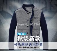 2014 Korea Edition Thin Jacket fashion jacket with collar insert skin casual preppy good quality jacket free shipping