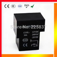 JQX-15F T90 relay (10pcs/lot) high quality PWR SPDT rele 30A 12vDC 24v 5pin 5 pin 1Z  circuit board PCB relay free shipping