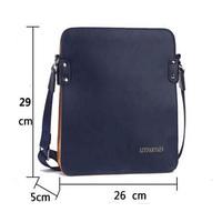 2014 New Fashion Men Bags High Quality Leather Handbag Men's Messenger Leather Shoulder Bag Business Bag Men's Computer Bag