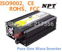 300W Inverter DC12V/24V Pure Sine Wave Inverter 600W Peak Power CE,FCC,ROHS
