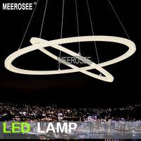 Chandelier Light Modern Arcylic Led Ring Suspension Light Fixture, Circle Led Lighting New Design Md5000