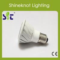 Free ship LED COB Lamp E27  MR16 Base Spot Light LED 5W Bulb LED RA>80 PF>0.5 Hot sale China LED Factory