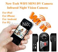 New arrival WiFi Camera Mini DV 480P DVR Wireless IP Camera Hidden Camcorders Video Recorder Camera Infrared Night Vision