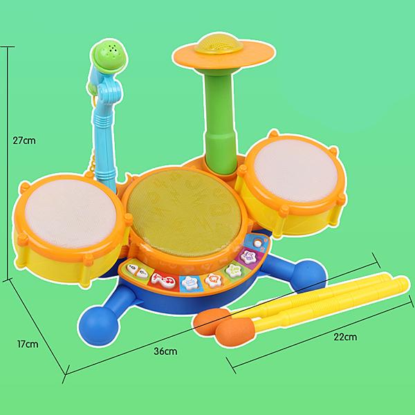 Educational Drum beat Set Music musical instrument Toy for Kids Children(China (Mainland))