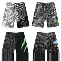 New men surf board shorts MONSTER CHJ Board Shorts men beachwear Trunks male swimwear 0731