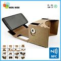 "2015 Google Cardboard Plastic VR BOX Virtual Reality VR Glasses 3D High Quality 3D Helmet Phone Glasses for 4.7""-6"" Smart Phones"