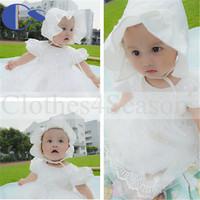 Quality Vestidos Infantis Christening Gown Infant Princess Dress Brand Roupa Infantil Baptism Toddler Girls Clothing Baby Dress