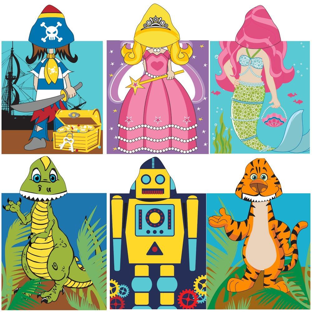 Cute 100% Cotton Children's Hooded Towel Mantle Bath Towel Printed Hoodie Towel Cloak Beach Towels for Kids Free Shipping
