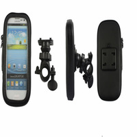 Cycling Bicycle Frame Handle Bar Bag Case Mount Holder Waterproof case for iphone 4s 5g 5s For Samsung S3 S4 Note 2 3 I9200