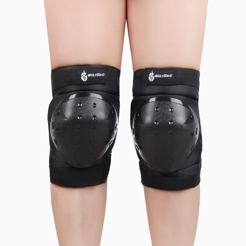 High Quality Sports Knee Pads Kneepad Kneecap Kneelet PVC Soft Knee Protector Skating Ice Skiing Snowboarding Black(China (Mainland))