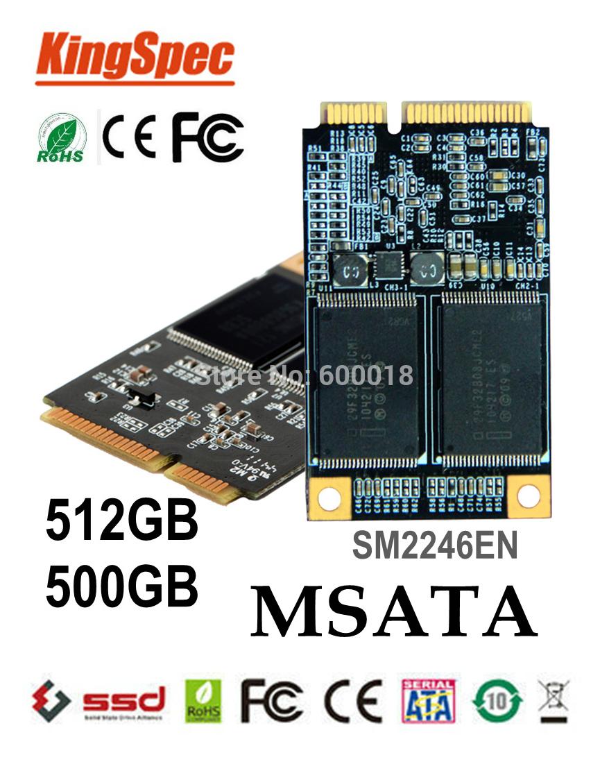 Внутренний твердотельный диск (SSD) kingspec mSATA ssd 512 sata3 500 3 * 5 SM2246EN > ssd mSATA ssd 500GB 480 ssd 256gb hd ACSC4M512mSA ssd винчестер для ноутбука