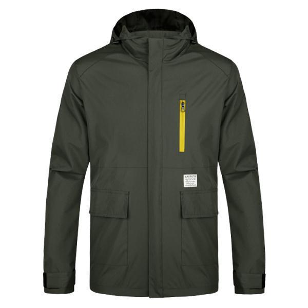 Vent imperméable à l'eau les hommes randonnée camping veste à capuche taille plus m-3xl meilleure marque respirant. homme, vêtements d'hiver au chaud