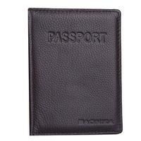 Women & Men  Wallet Genuine Leather Passport Protective Sleeve Travel Passport Holder Cover ID Card Bag  M959