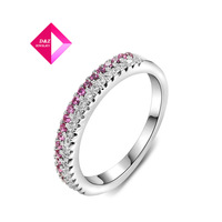 2014 new white / rose gold Austrian crystal diamond ring ,Gold Plated wedding Ring Jewelry wholesale Ring Series