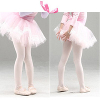children dance velvet Black/pink/white Milk Wire Pantyhose quality elasticity baby girl's ballet Tights dance Stockings