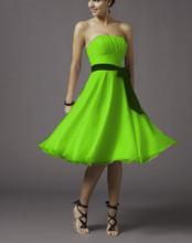 18 farben party kleider Minze grünen brautjunferkleider 2015, vestido de festa plus size billig lila Brautjungfer Kleider unter 50(China (Mainland))