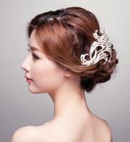 Tiara Noiva Rhinestone Bridal Hair Comb Metal Wedding Hair Combs Vintage Bride Crown Headpiece Tiaras Hair Accessories WIGO0336