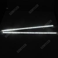5050 Led Rigid Bar with U Aluminium Shell + clear PC cover 36LED 50cm DC12v Non waterproof 6pcs/lot Free Shipping