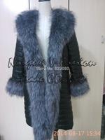 HOT SALE !2014 Winter faux fur coat  Female Fur Coat Slim Full Sleeve Leather Jackets Blazer Women Fox Fur Outerwear pu leather