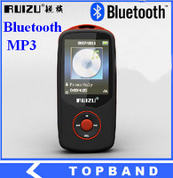 Super discount! 2014 New Arrive Bluetooth MP3 Player with 4GB storage and 1.8 Inch Screen can play 68h, Original RUIZU X06