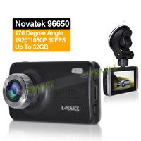 New Original C2 Novatek 96650 Car DVR Full HD 1920X1080P 30FPS LED Night Vision Camera Recorder 176Degree with Angle Lens WDR 10