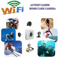Gopro Hero3 Style Action Camera Wifi Camera Wifi Control 720P Full HD IR Remote Control Waterproof Sport Camera