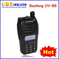 Two-way Radio Baofeng UV-B6 walkie talkie Dual Band VHF 136-174MHz & UHF 400-470MHz 5W UV B6 99 Channels FM A1012A PMR Portable