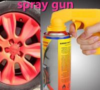 Freeshipping! car styling portable plasti dip handle spray gun rim membrane spray gun tools labor-saving! for cars colors